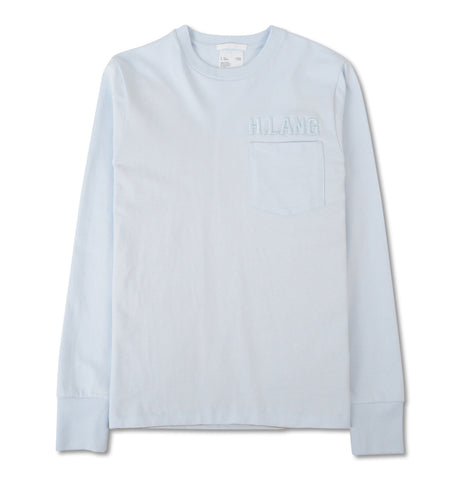 Helmut Lang - Long Sleeve Tee Glacier Blue