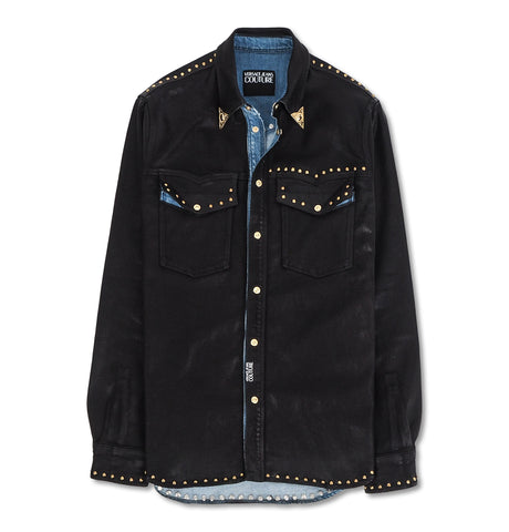 Versace Denim Jacket Black