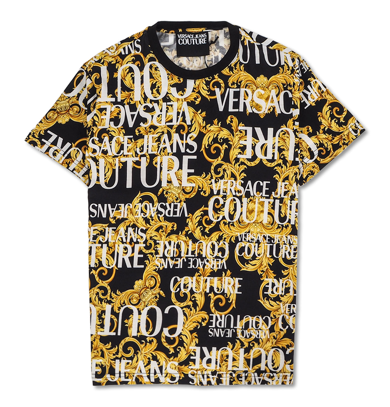 Image of   Versace Sprous Baroque Print Black