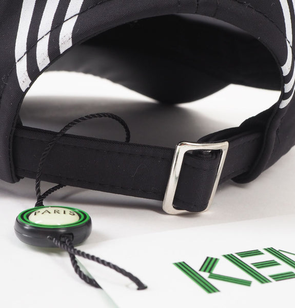 Kenzo - Black and White Striped Cap