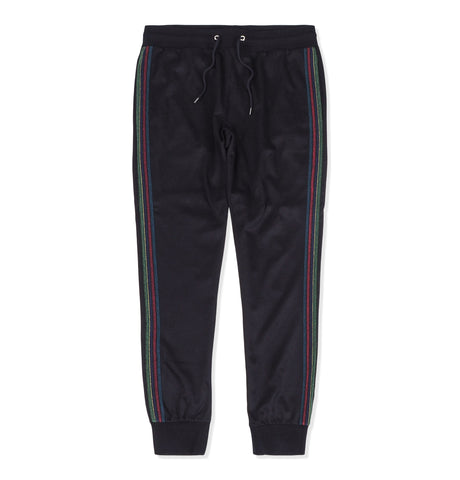 Paul Smith Jogging Pants Rainbow Stripe Black