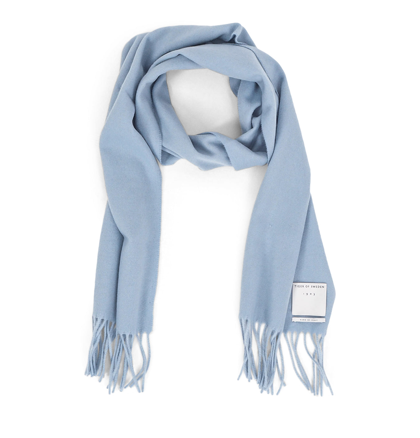Image of   Tiger Scarf Light Blue