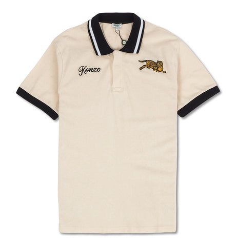 Jumping Tiger Polo Egg White