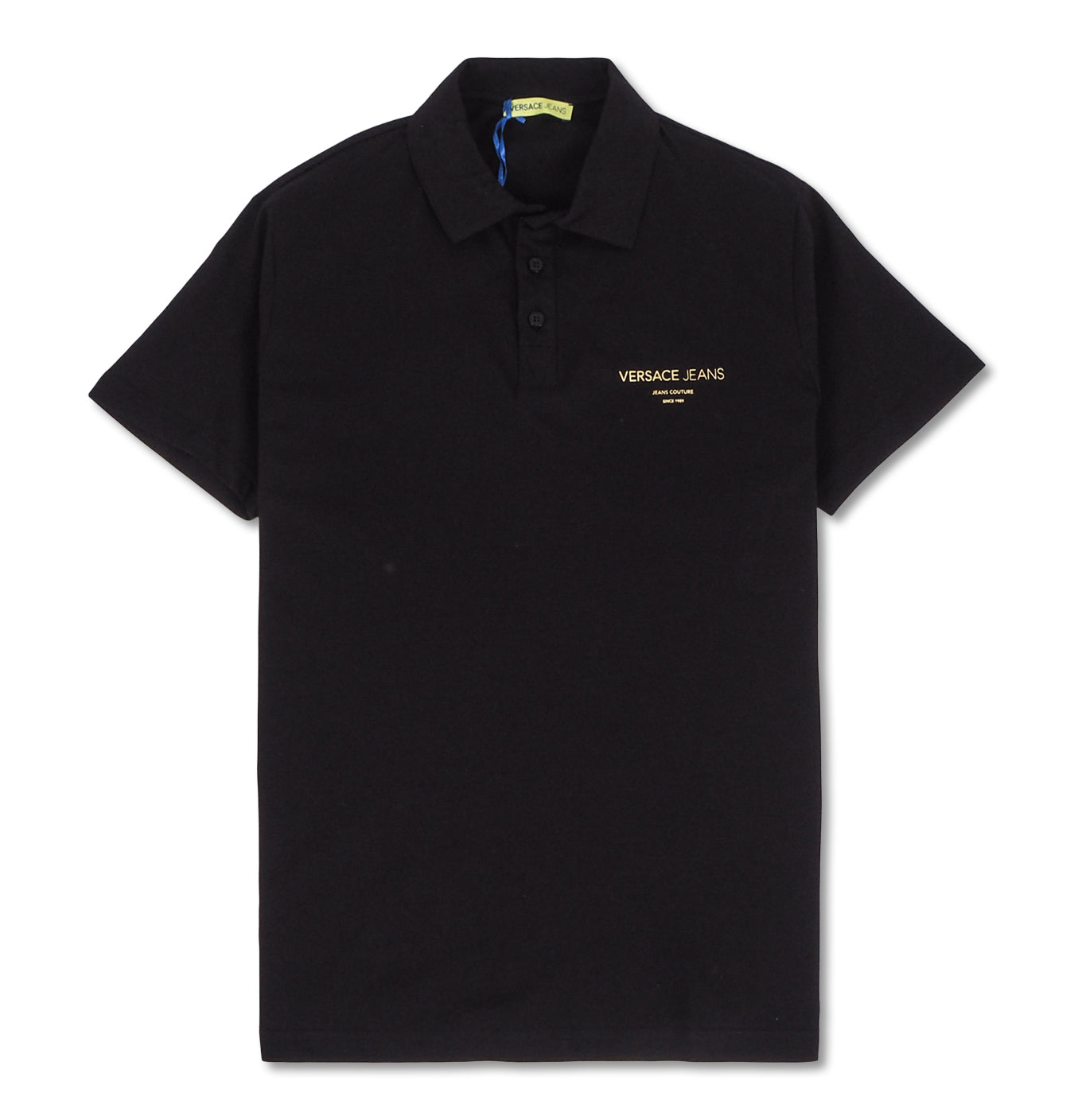 Image of   Gold Foil Polo Black