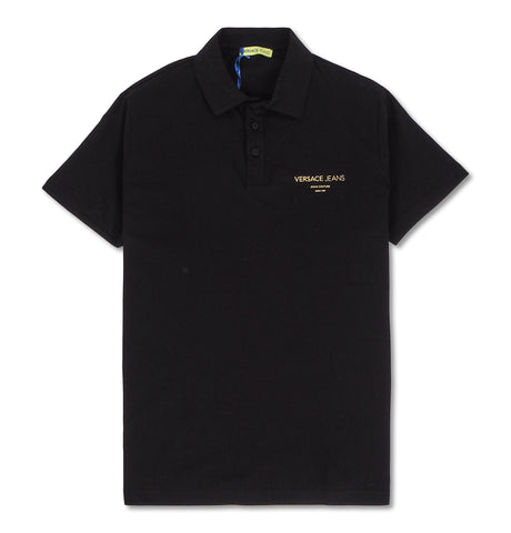 Gold Foil Polo Black