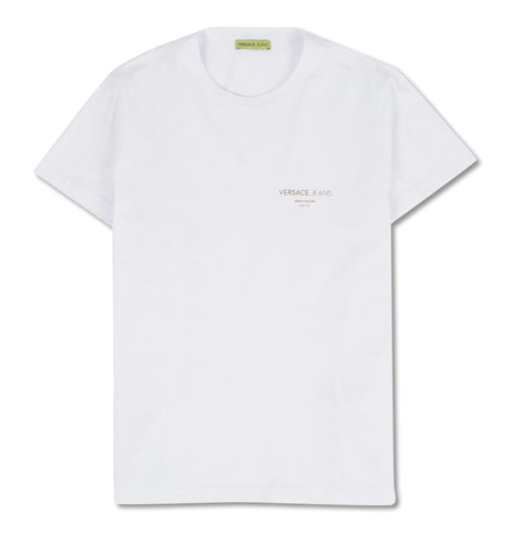 Versace Jeans - Gold Foil Jersey White