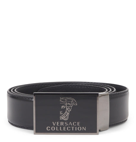 Cintura Half Medusa Leather Belt