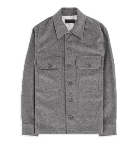 Shirt Jacket Fine Wool