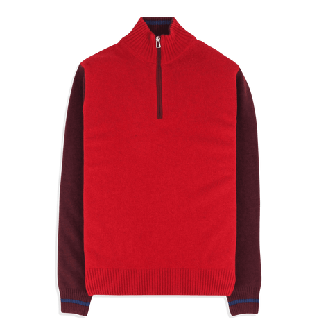 PS Paul Smith - Mens Zip Neck Sweater