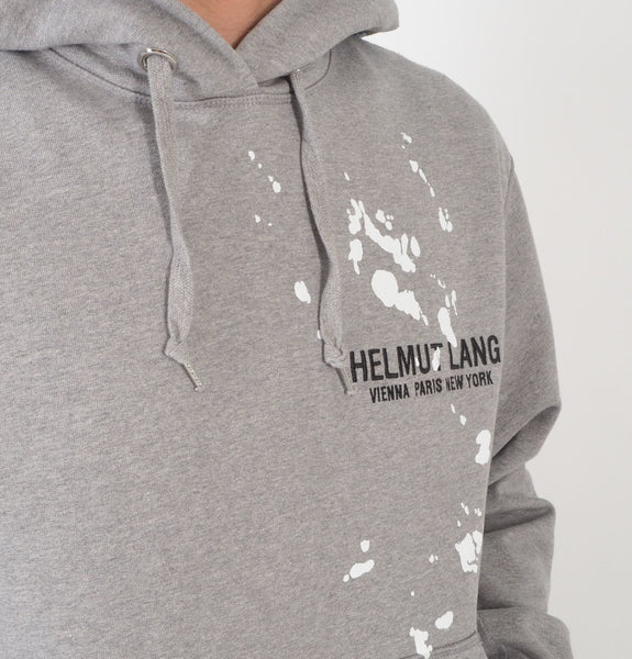 Helmut Lang - Standard Hoodie Precision Heather Grey