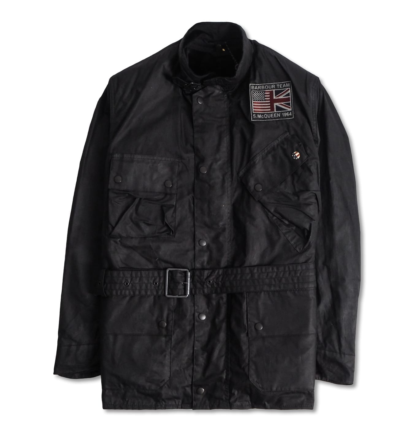 Image of   B.Intl Joshua Wax Jacket Black