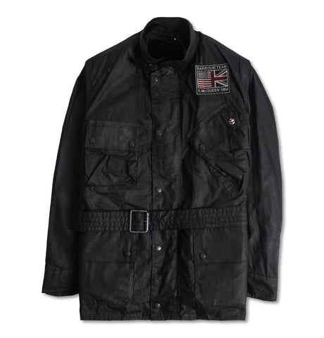 B.Intl Joshua Wax Jacket Black