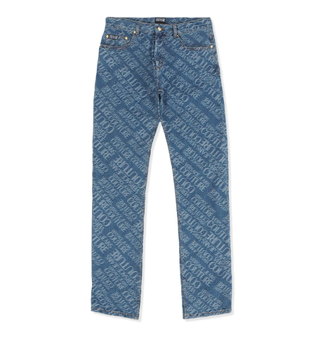 Versace Jeans Couture - Denim Logo Pants Blue