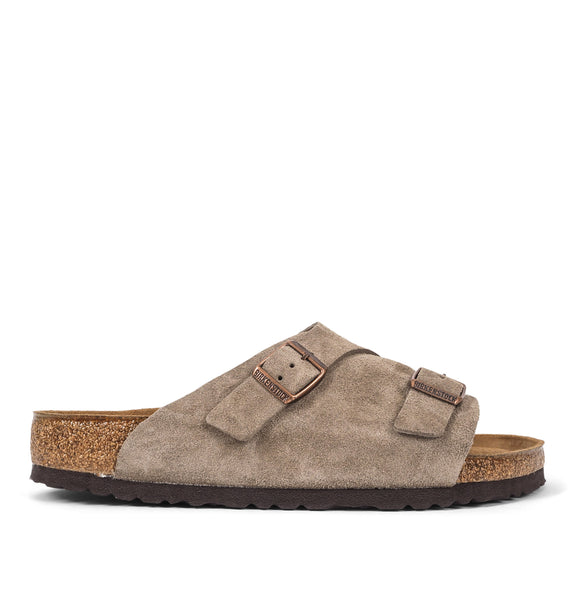 Birkenstock - Zürich BS Leather Sandals Grey