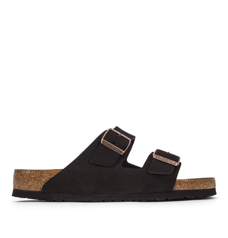 Birkenstock - Birkenstock - Arizona Leather Sandals Mocha