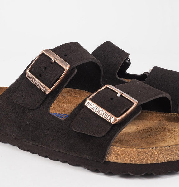 Birkenstock - Arizona Leather Sandals Mocha