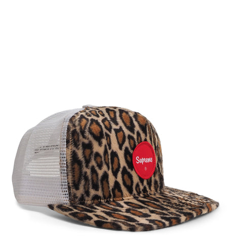 Supreme - Leopard Mesh Back 5-Panel