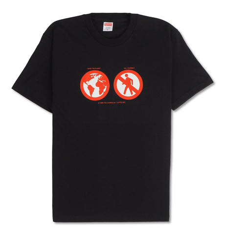 Supreme - Supreme Save The Planet Tee Black