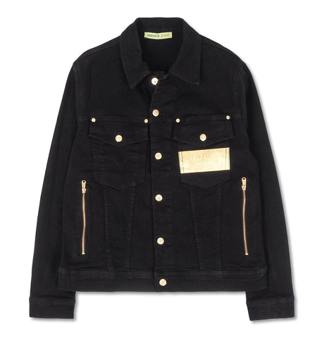 Versace Jeans - Denim Jacket Black
