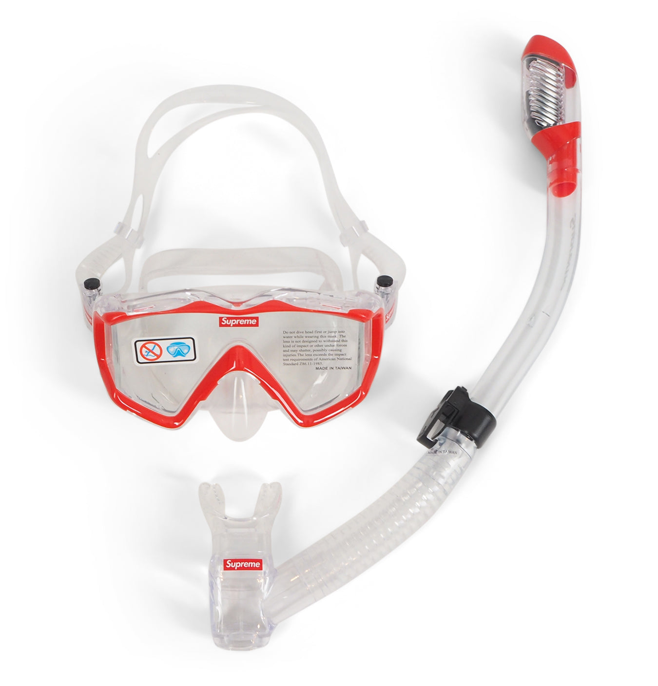 Image of   Supreme Cressi Snorkel Set