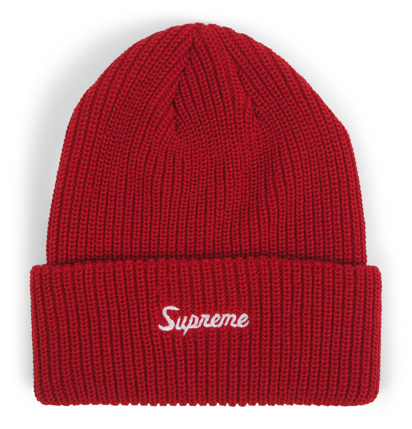 Image of   Supreme Loose Gauge Beanie Red