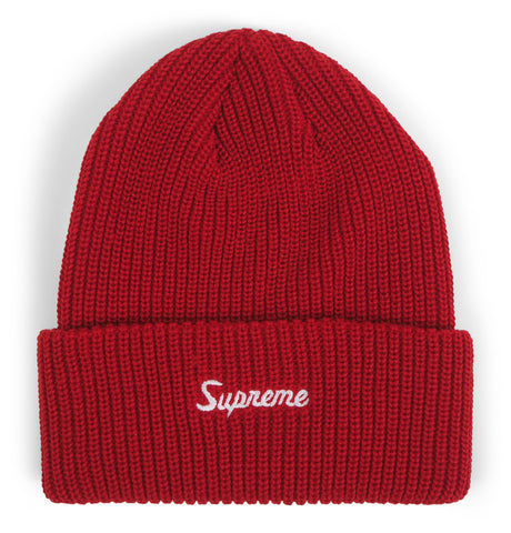 Supreme - Supreme Loose Gauge Beanie Red