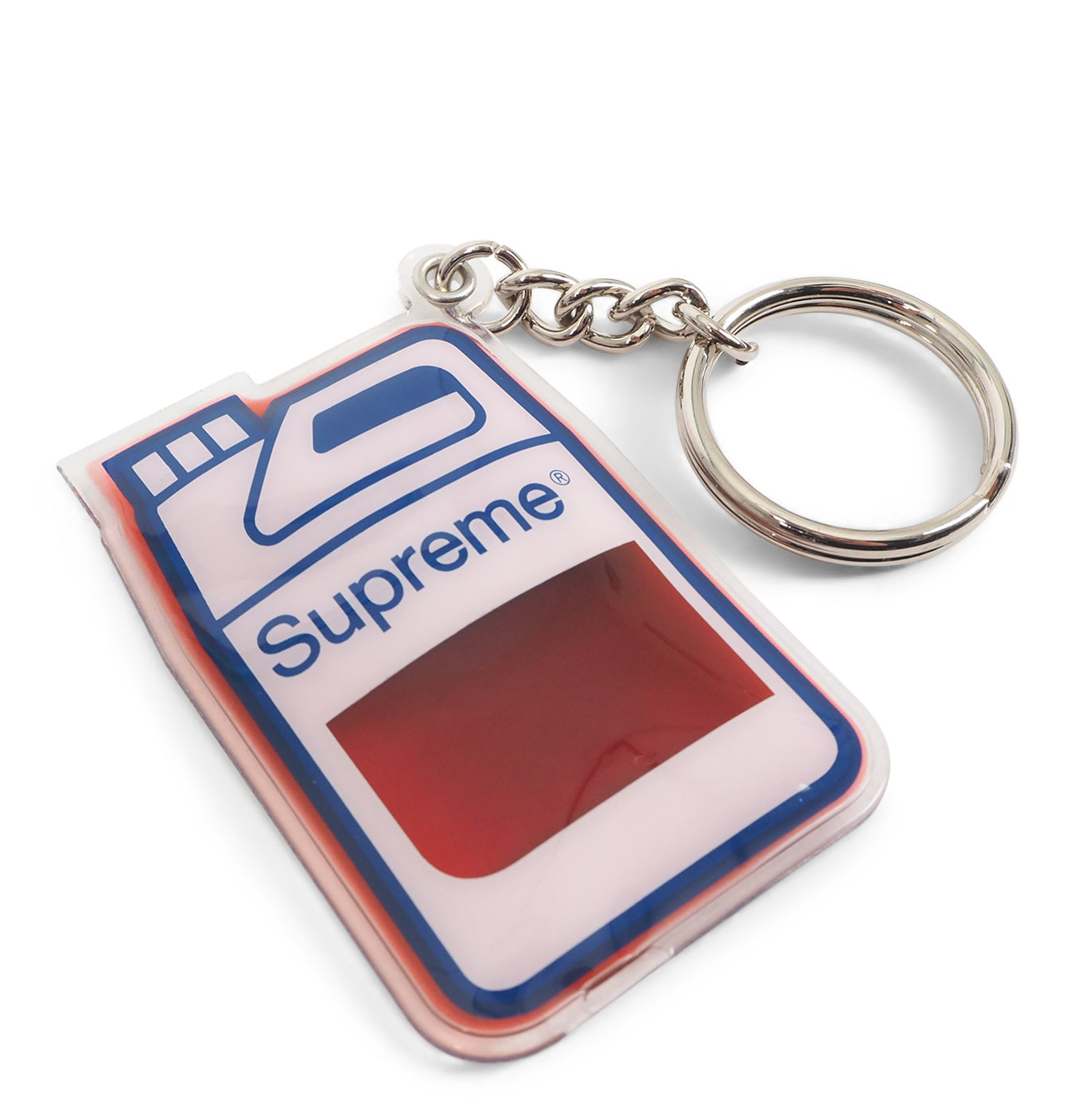 Image of   Supreme Jug Keychain Orange