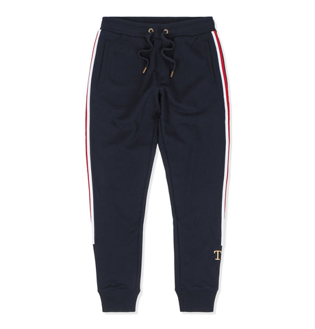 Tommy Hilfiger Stripe Sweatpants Blue