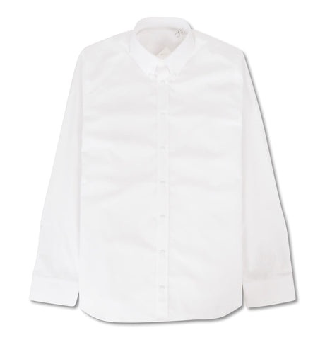 Press Stud Shirt White