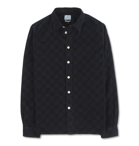 Denim Shirt Dark Blue