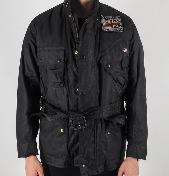 Barbour - B.Intl Joshua Wax Jacket Black