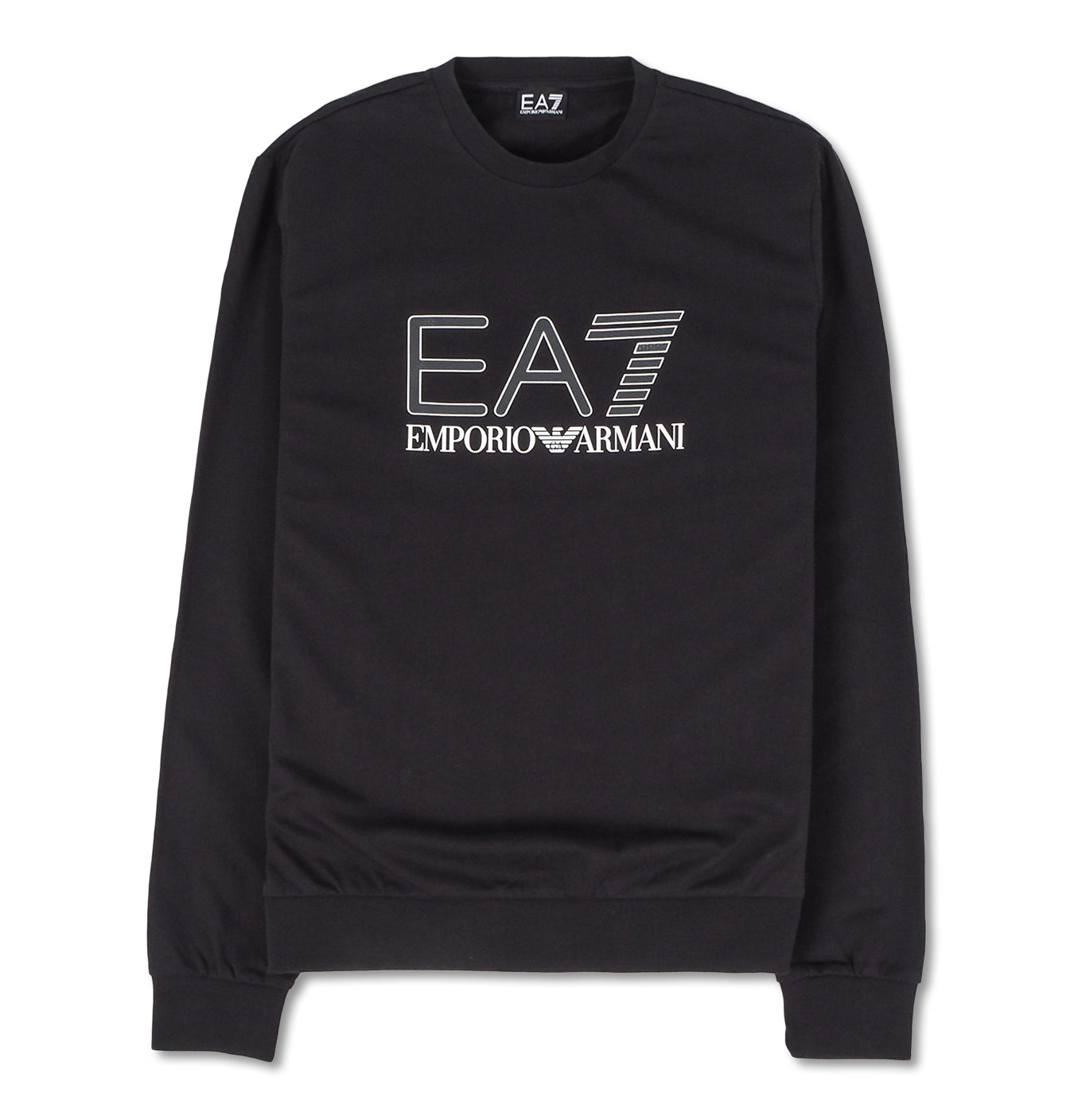 Image of   EA7 Sweatshirt with Logo Black