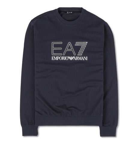Sweatshirt with Logo Dark Blue