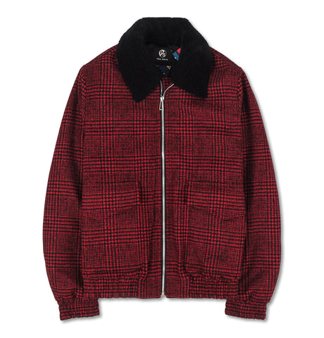 Mens Flight Jacket Red