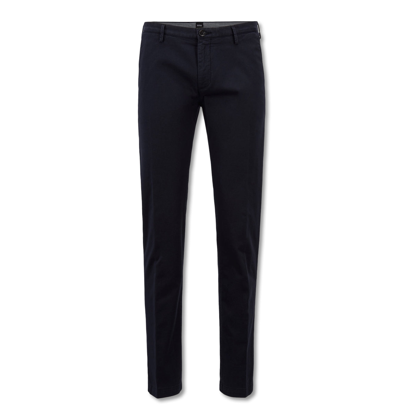 Image of   Slim Fit Chinos with a Straight Leg Dark Blue