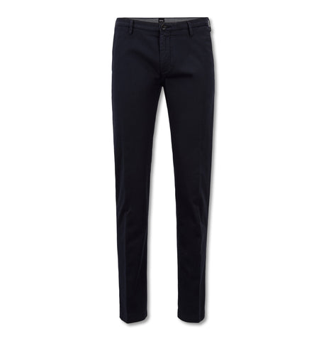 Hugo Boss - Slim Fit Chinos with a Straight Leg Dark Blue