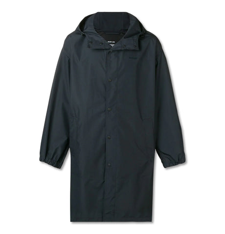 Helmut Lang Hooded Raincoat Black