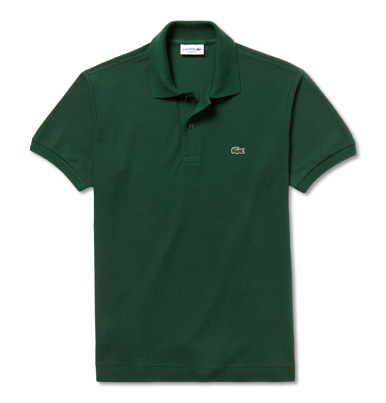 Image of   Classic Fit Crocodile Polo Vert