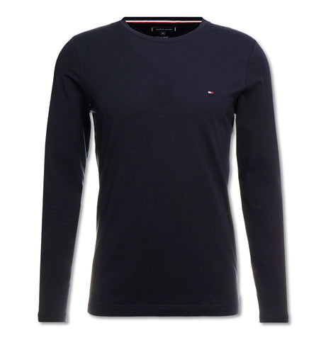 Tommy Hilfiger - Stretch Slim Fit Long Sleeve Tee