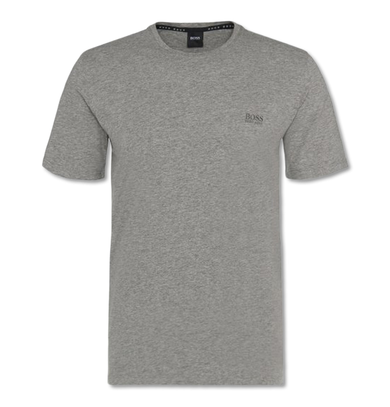 T-shirt in Stretch Cotton Blend Grey