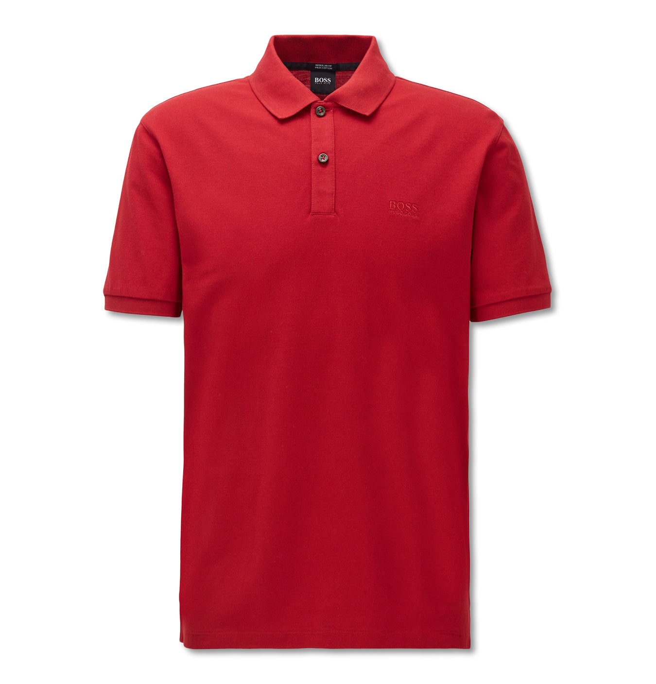 Image of   Regular Fit Pima Cotton Polo Red