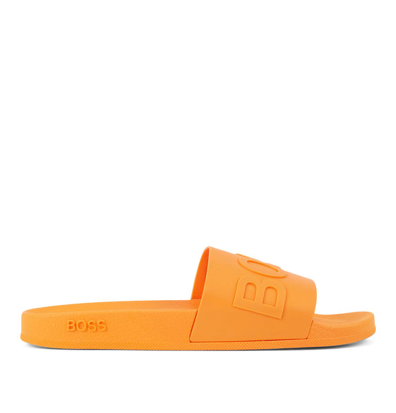 Bay Slides Bright Orange