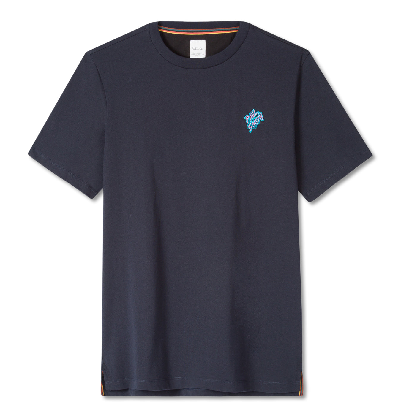 T-Shirt Embroided Logo Blue