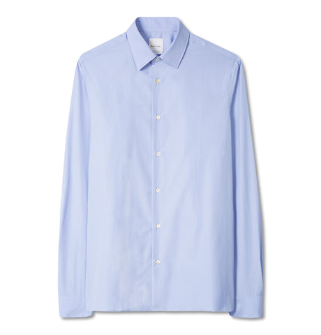 Gents S/C Tailored Shirt Blue