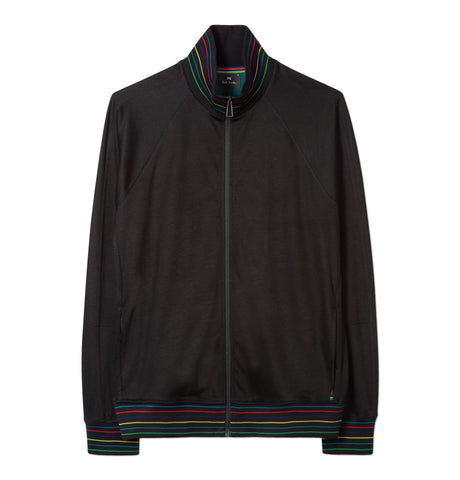 PS Paul Smith - Mens Zip Track Top Black