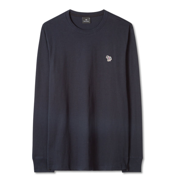 PS Paul Smith - Regular Fit LS T-Shirt Blue