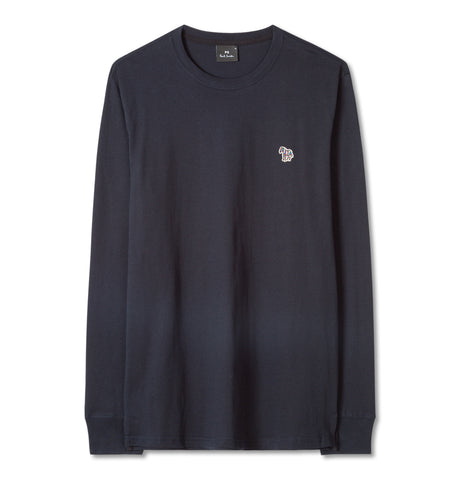 Regular Fit LS T-Shirt Blue