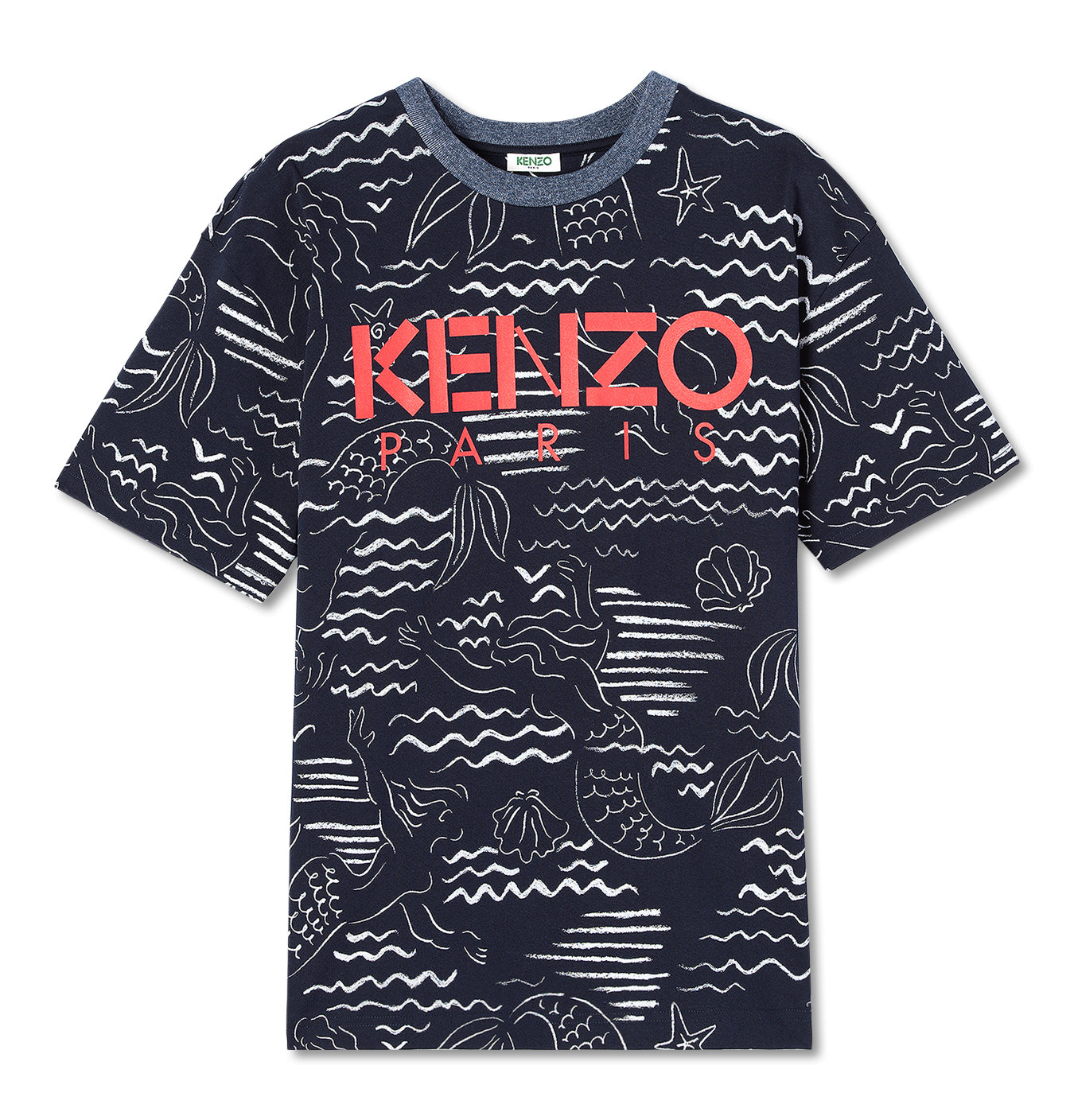 Image of   Kenzo All Over Printed T-Shirt