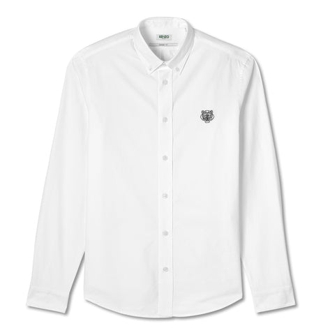 Kenzo Tiger Crest Shirt Casual Oxford