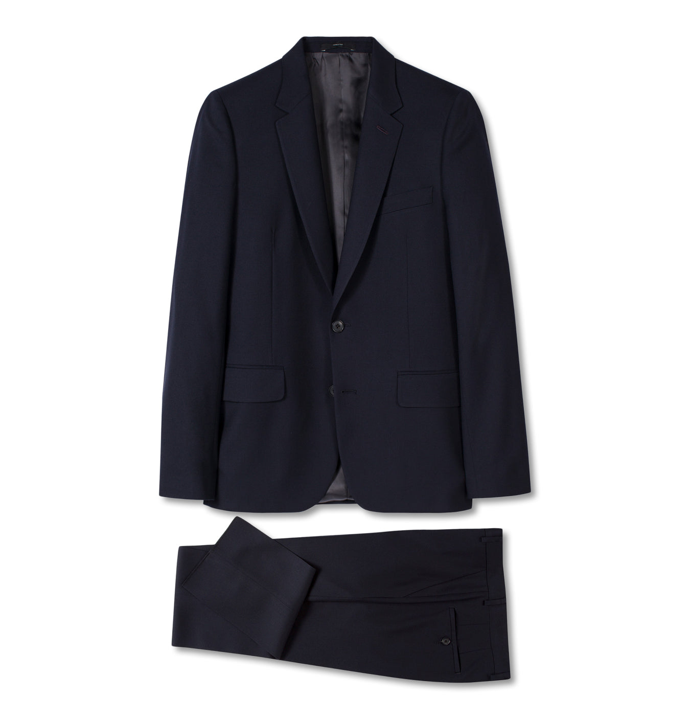 Gents Tailored Fit Travel Suit Navy